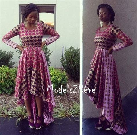 une robe longue le pagne africain robes and