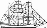 Coloring Pages Ships Boats Printable Boat Getcolorings sketch template