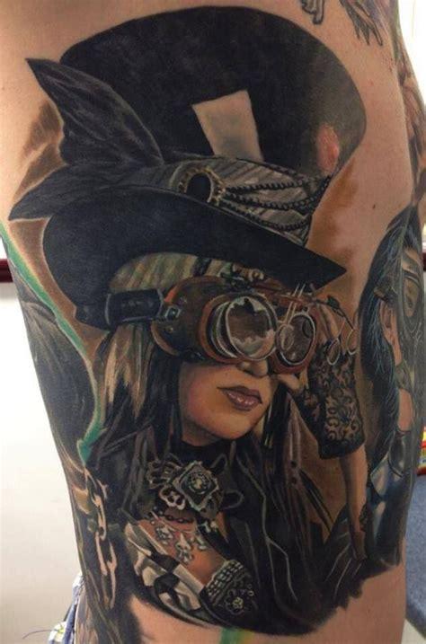 20+ Innovative Steampunk Tattoo Designs Golfiancom