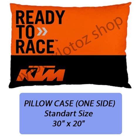 ktm motorcross pillow case cover bedding standart