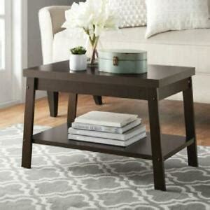 Sturdy hairpin design metal legs give it an industrial. Small Rectangular Coffee Table with Underneath Storage ...