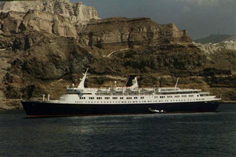 Cruise Ship Sinking Santorini by Oceanos Sinking