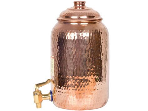 copper water tank  litre capacity  litre rs  piece id