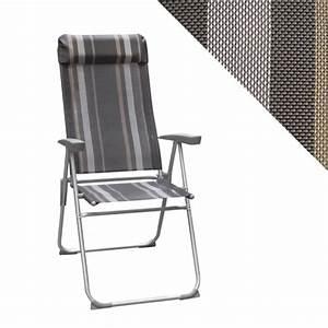 Fauteuil De Camping Pliant : fauteuil de camping avec repose t te inclinable 5 ~ Dailycaller-alerts.com Idées de Décoration