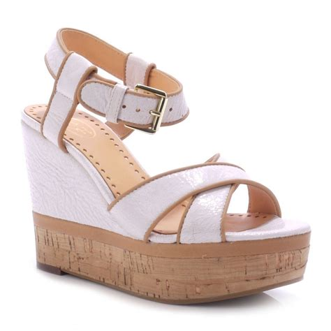 Ash Honey by Ash Honey White Wedge Sandals Ash From Ash