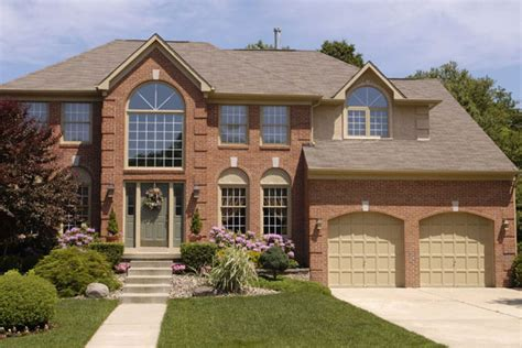 orange brick home exterior colors brick homes