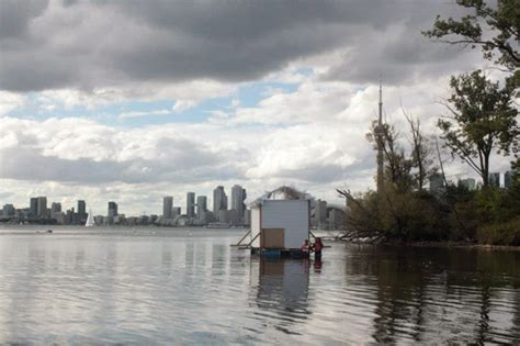 Sunfish Cut Boat Club by Floating Space Draws The Ire Of Boat Club Members