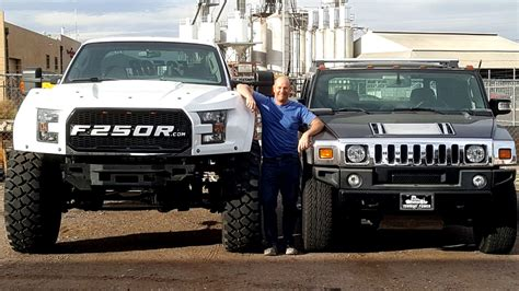 F250 Megaraptor For Sale by Ford F 250 Megaraptor Has 46 Inch Tires Takes No Prisoners