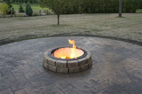 We did not find results for: Stamped concrete for our firepit. Similar to what we are doing, but our fire pit will be sunken ...