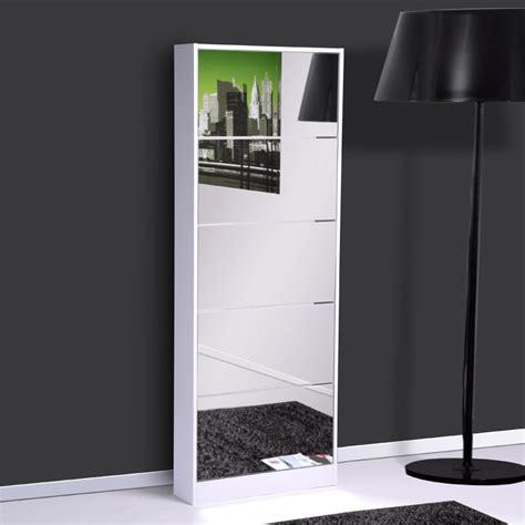 meuble a chaussures avec miroir meuble chaussure avec miroir ikea