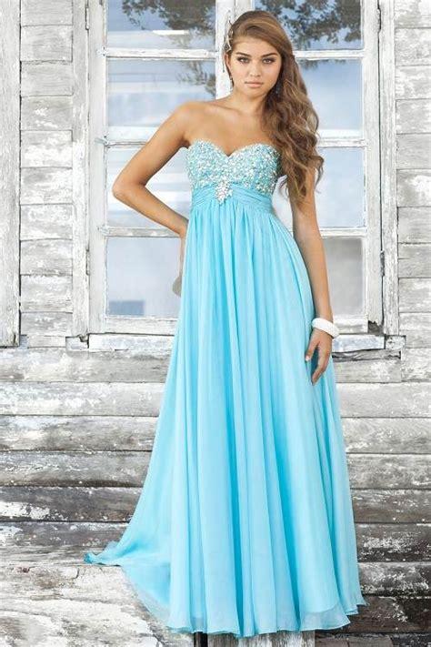 light blue evening gown light blue dress formal style fashion gossip
