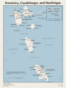 Map Of Dominica Guadeloupe And Martinique  U2022 Mapsof Net