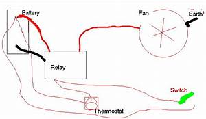Wiring Up A Cooling Fan With A Relay