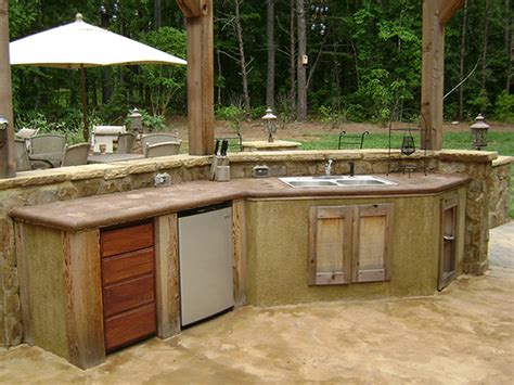 outdoor kitchen designs with pool backyard makeovers backyard living by troutman pool leisure 7237
