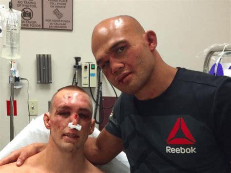 robbie lawler retains welterweight belt  ufc  fight