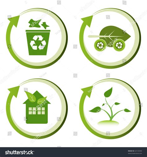 environment friendly design green eco friendly design concepts recycle stock vector 64134394 shutterstock
