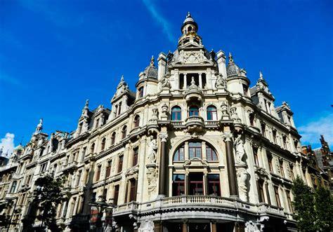 Architecture In Antwerp, Belgium Wanderingtrader