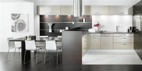 black  white kitchen designs  mobalpa