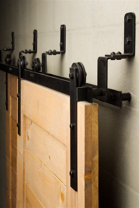 doors for tight spaces the bypass sliding barn door hardware is efficient in tight spaces offering a low profile