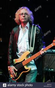 R.E.M - US rock group with Mike Mills in 2004 Stock Photo ...