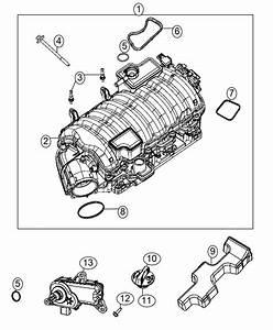 2017 Dodge Challenger Manifold Kit  Engine Intake  Mds