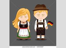 Traditional Costume clipart germany Pencil and in color