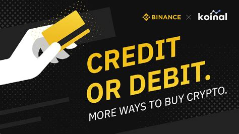 Bitcoin, ethereum, litecoin, ripple and 30 other digital currencies for eur or usd. Crypto exchange Binance now lets you buy coins with a credit card