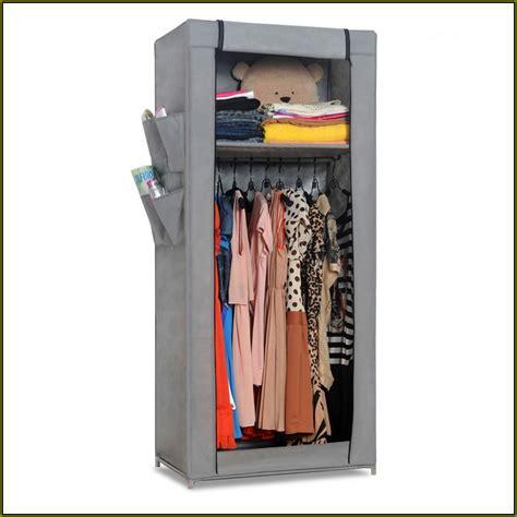 Portable Wood Wardrobe Closet Home Design Ideas