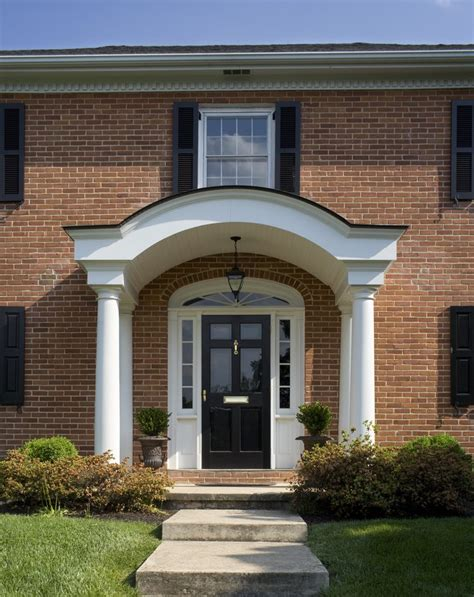 arch shelf outdoor front entry decorating ideas entry traditional