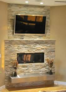 kitchen gallery ideas stacked fireplace with floating hearth