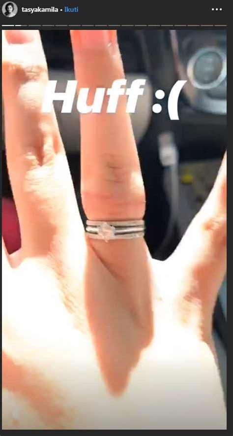 ups tasya kamila tanggalkan cincin pernikahannya