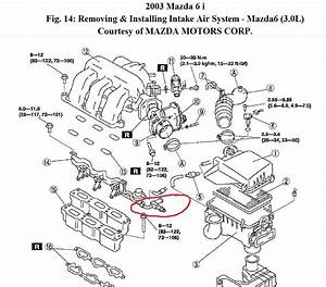 2005 Mazda 6 Engine Diagram