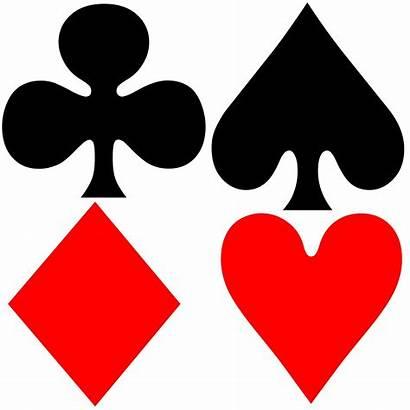 Symbols Card Symbol Playing Suit Icon Domain