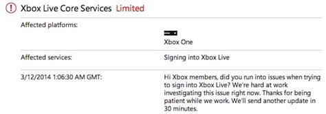 Xbox Live problems keep many Xbox One owners from calling ...