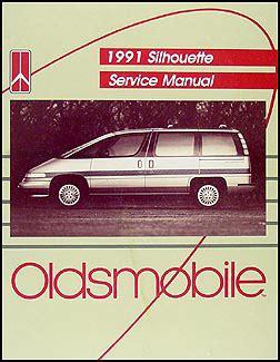 book repair manual 1992 oldsmobile silhouette electronic valve timing 1990 1993 oldsmobile silhouette van parts book original
