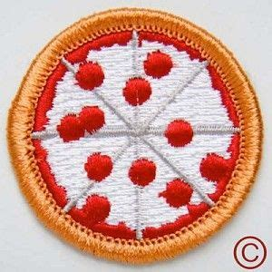 design merit badge pizza demerit badge 3 95 patches and pins