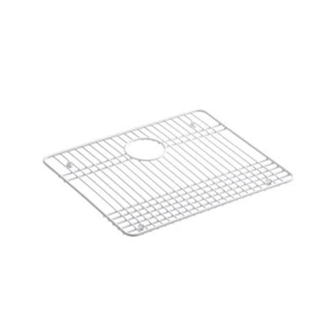 kohler gilford sink rack kohler k 6013 st gilford vinyl coated steel sink rack