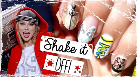 Shake It Off! Inspired Nail Art