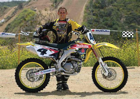 suzuki motocross bike 2007 suzuki rm z450 carmichael replica review top speed