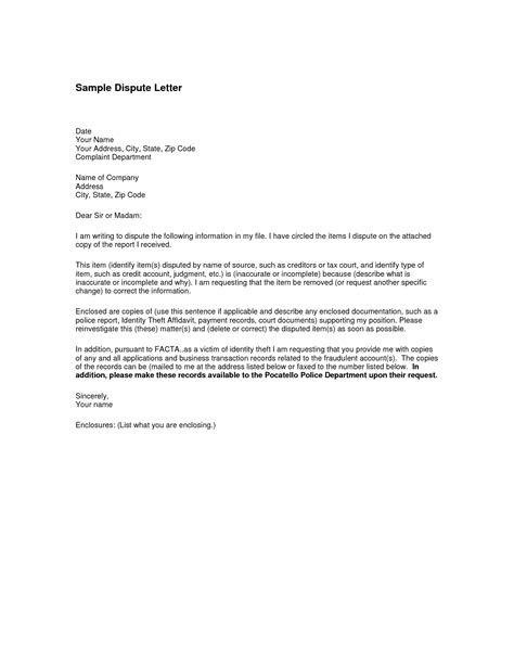 sample letter  disputing  debt collection notice