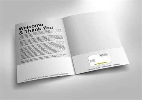 abellon law firm  folder design