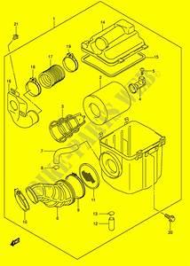 28 Suzuki Vinson 500 Parts Diagram