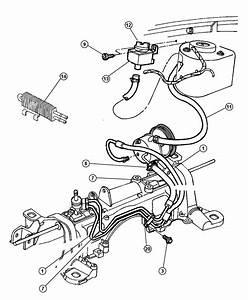 1997 Dodge Ram 2500 Hose  Power Steering  Engine  Pinion