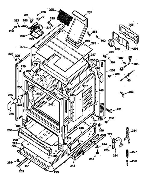 general electric jgbp35wew1ww gas range timer stove