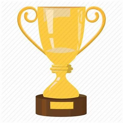 Trophy Cartoon Reward Cup Icon Side Race