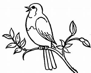 Latest{30}+ Bird Clipart Black And White Photos Free Download