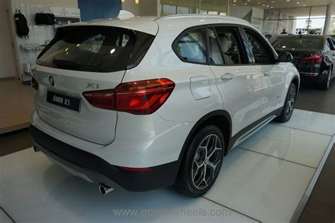 All New Bmw X1 Displayed At A Special Preview At The Goa