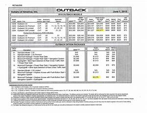 subaru forester dealer invoice invoice template ideas With 2016 subaru forester invoice price