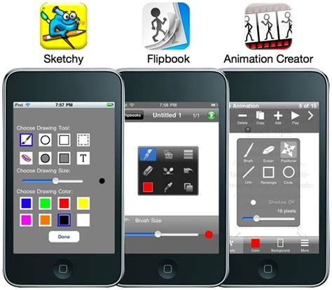 animation apps for iphone sketchy is here for ipod touch and iphone learning in