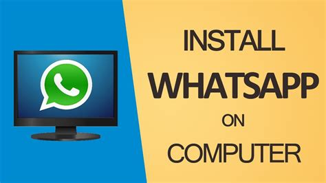how to install whatsapp on pc with bluestacks